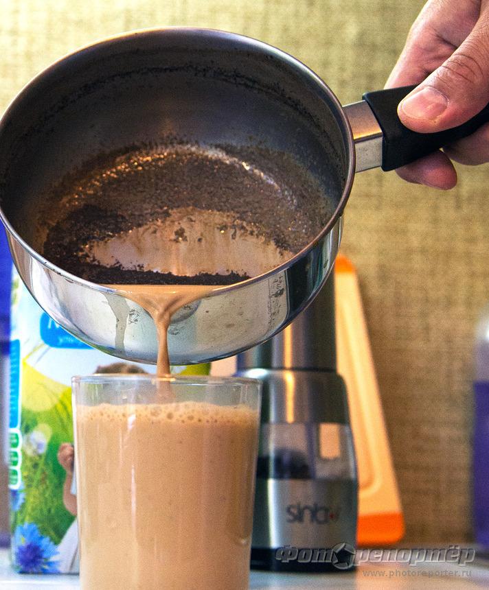 Кофе на молоке. Как в детстве.