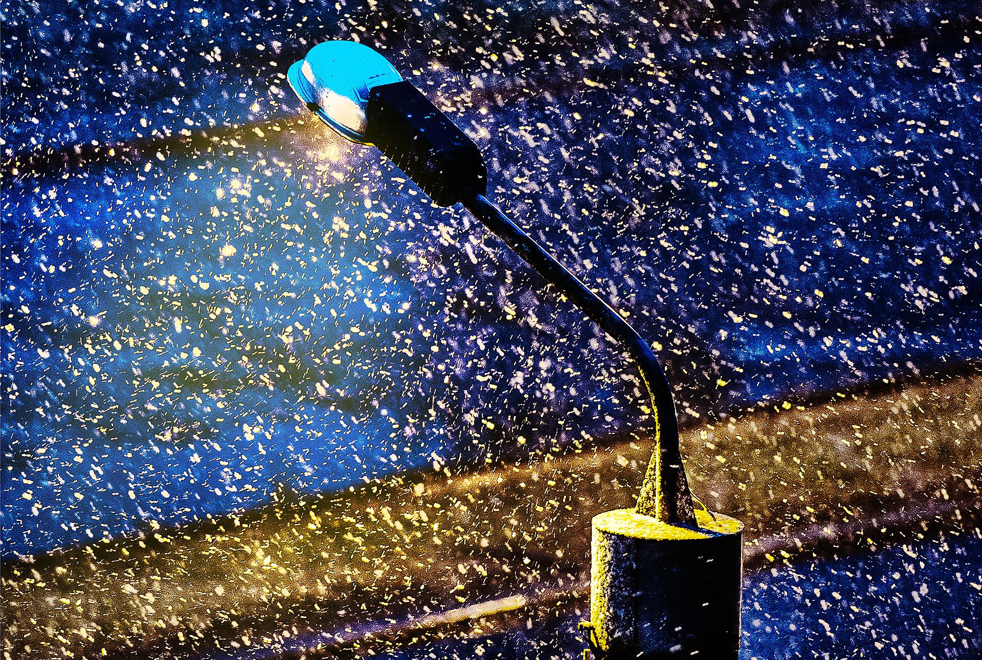 В Челябинске снег