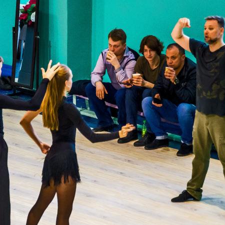 Мастер-класс по танцевальному спорту.