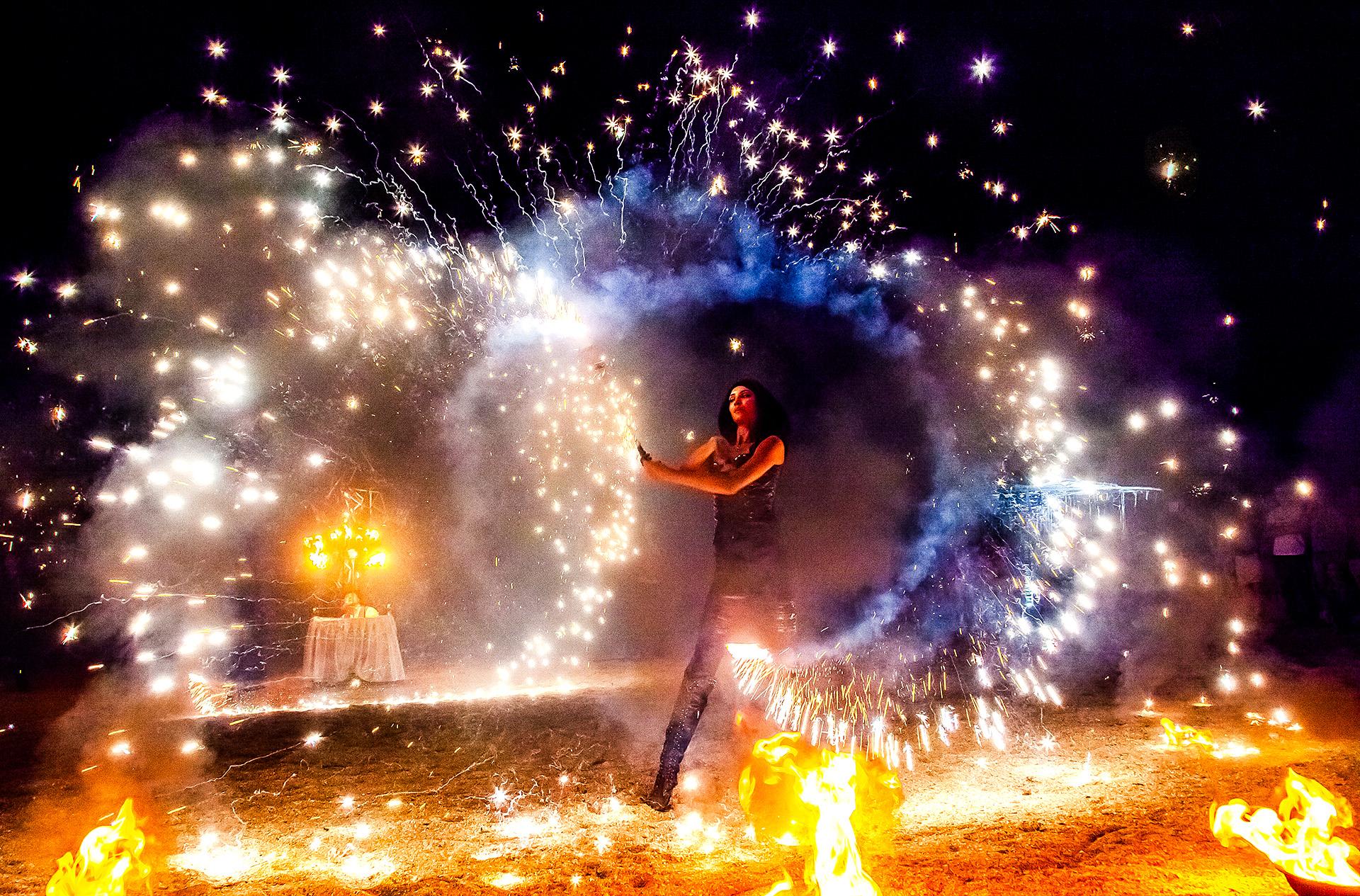 Огненное представление