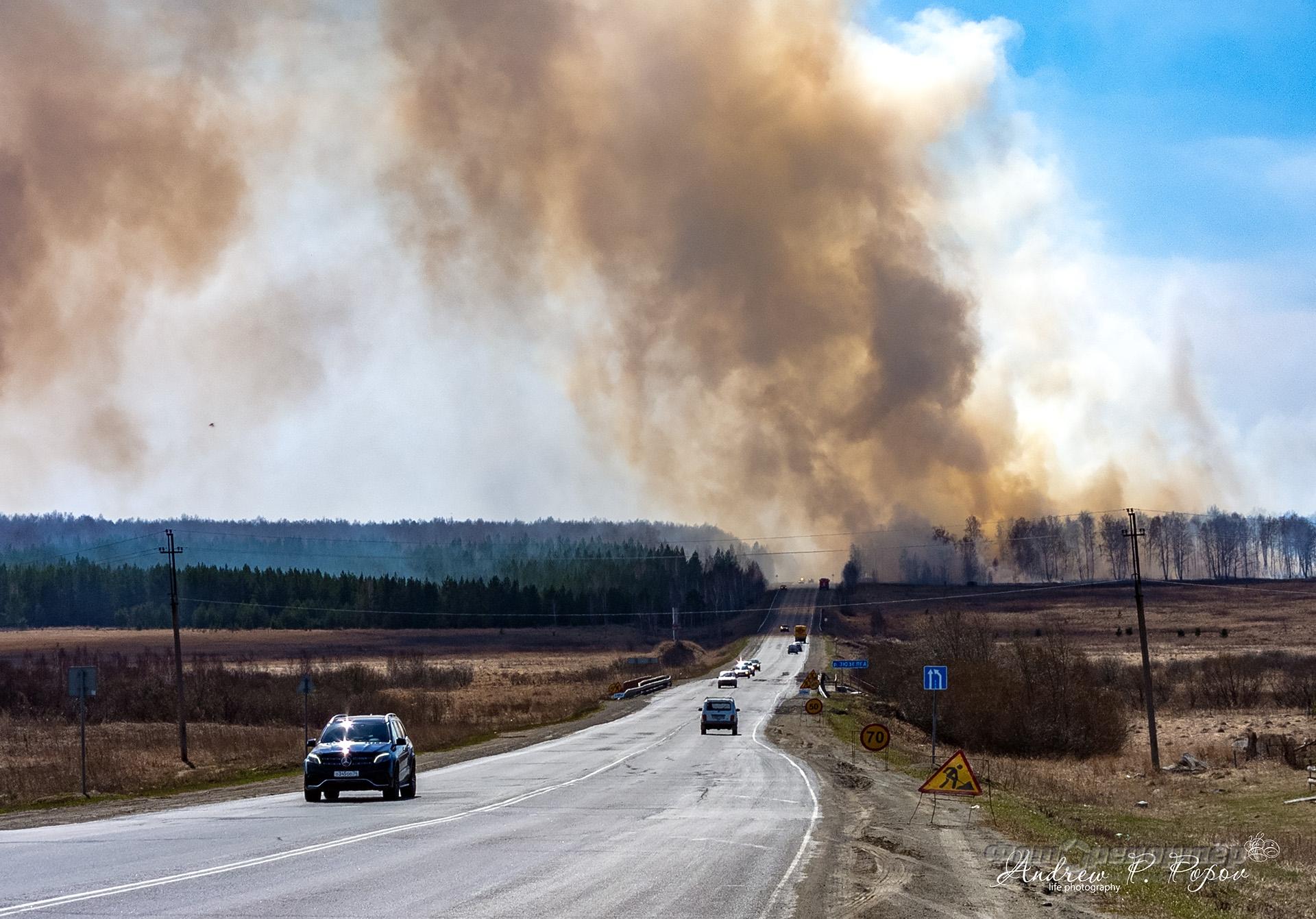 Весенние пожары каждый год